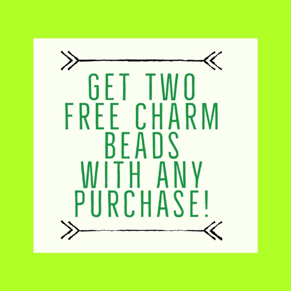 European Charm Beads Jewelry - Two FREE Charms with any Purchase!